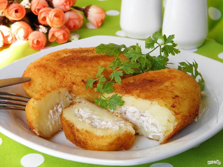 Как готовить картофельные зразы видео