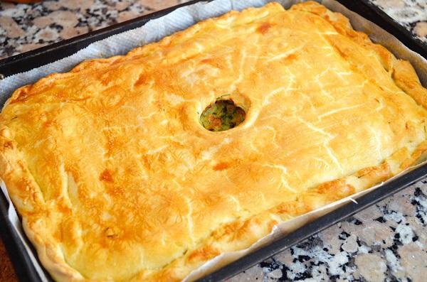 Как приготовить пирог с капустой пошаговый рецепт с